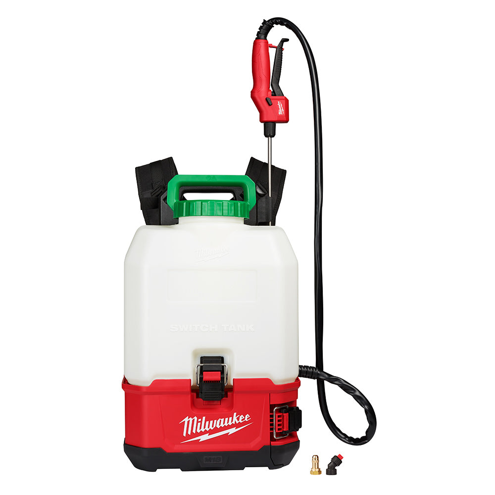 Milwaukee 2820-20PS 18 Volt 4 Gallon Switch Tank Backpack Sprayer, Bare Tool