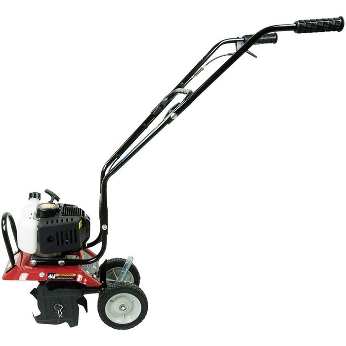 "Southland SCV43 43cc 2 Cycle Full Crank Gasoline Power Cultivator w/ 7"" Wheels"