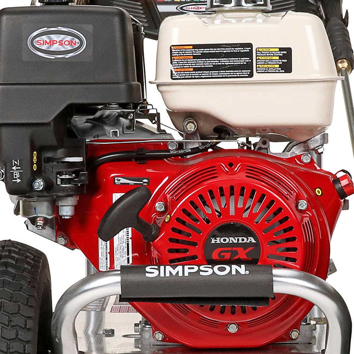 Simpson ALH4240 4,200-Psi 4-Gpm Cold Water Gas Powerd Professional Pressure Washer