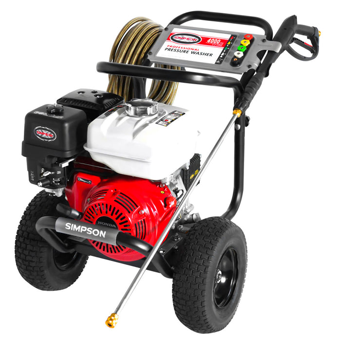 Simpson 60869 4000 Psi 3.5 Gpm Gas Powered Monster Powershot Pressure Washer