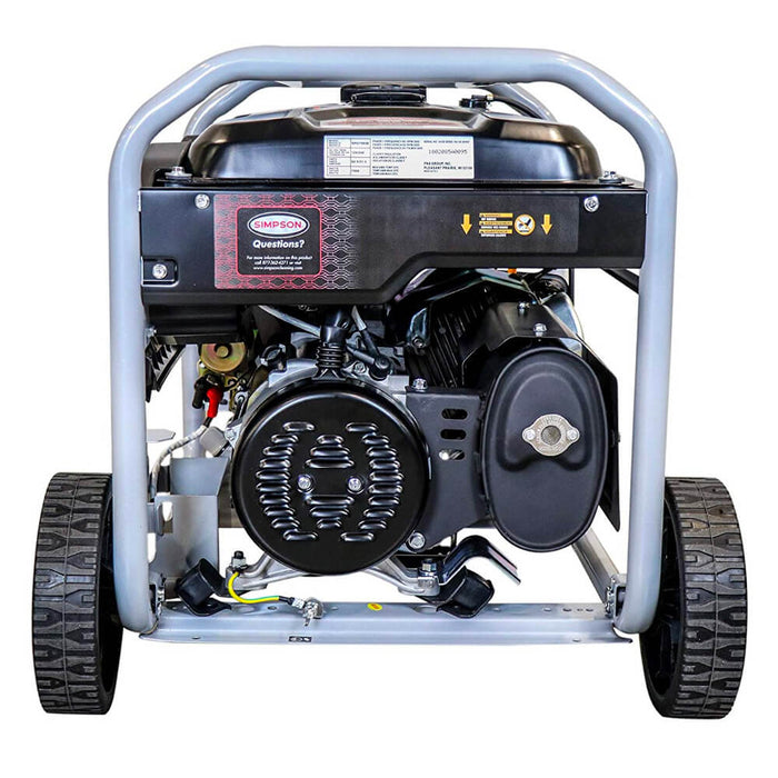 Simpson SPG7593E 120-Volt 7,500-Watt OHV Gas Powered Portable Generator - 70007