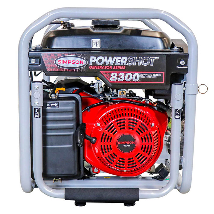 Simpson SPG8310E 120-Volt 8,300-Watt OHV Gas Powered Portable Generator - 70008