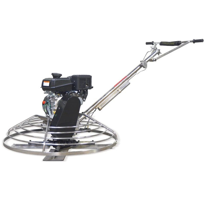 "Tomahawk Power TPT36K 6-HP 36"" Concrete Gasoline Power Trowel Edger w/ Float Pan"