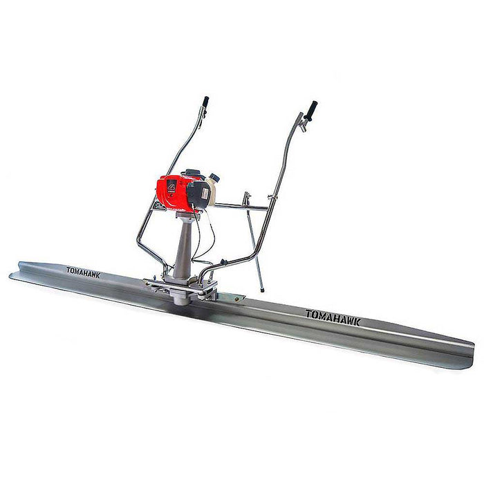 Tomahawk Power TVSA-H + TSB12-P 12ft Blade 1.8 HP GX35 Honda Power Screed Tool