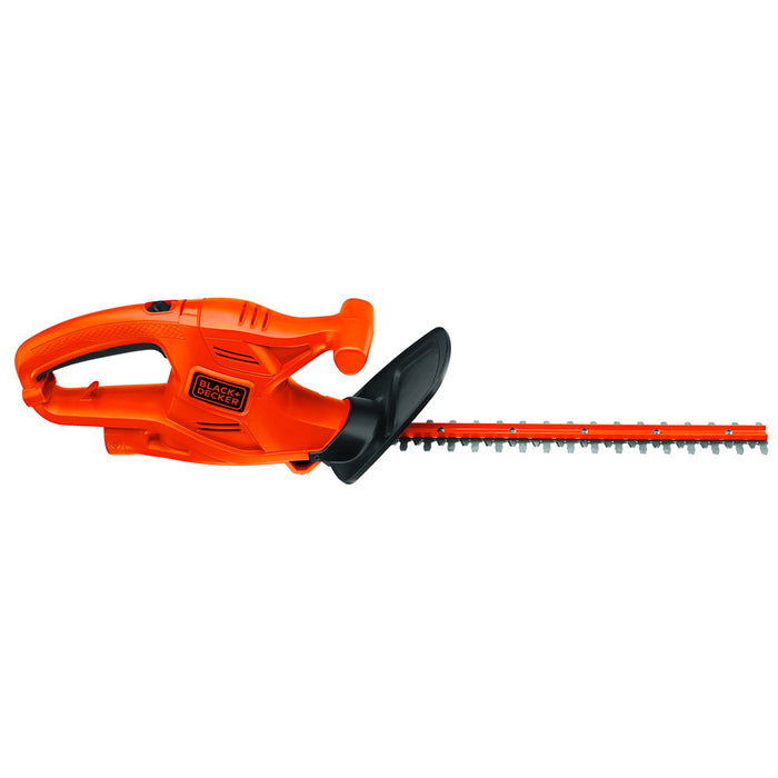 Side image of black and decker TR117 hedge trimmer