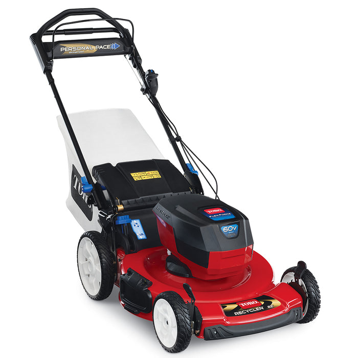 Toro 20363T 60 Volt 22 Inch Smartstow Personal Pace Lawn Mower, Bare Tool