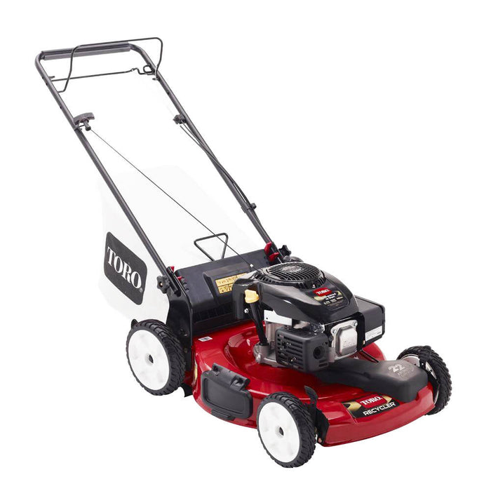 Toro 20377 22-Inch 149cc Kohler Engine Gas Power Recycler Walk Behind Mower