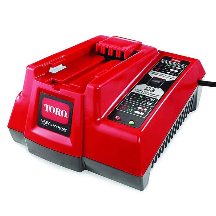 Toro 88507 48-Volt LED Indicator Max Lithium-Ion Quick Battery Charger