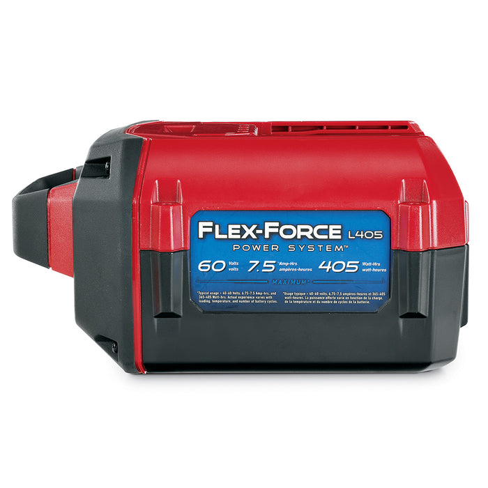 Toro 88675 60 Volt 7.5Ah 405 Watt Hour Flex-Force Lithium-ion Battery Pack