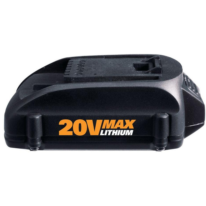 Worx WA3525.2 20-Volt 2.0Ah Max Lithium-Ion Battery Pack - 2pk
