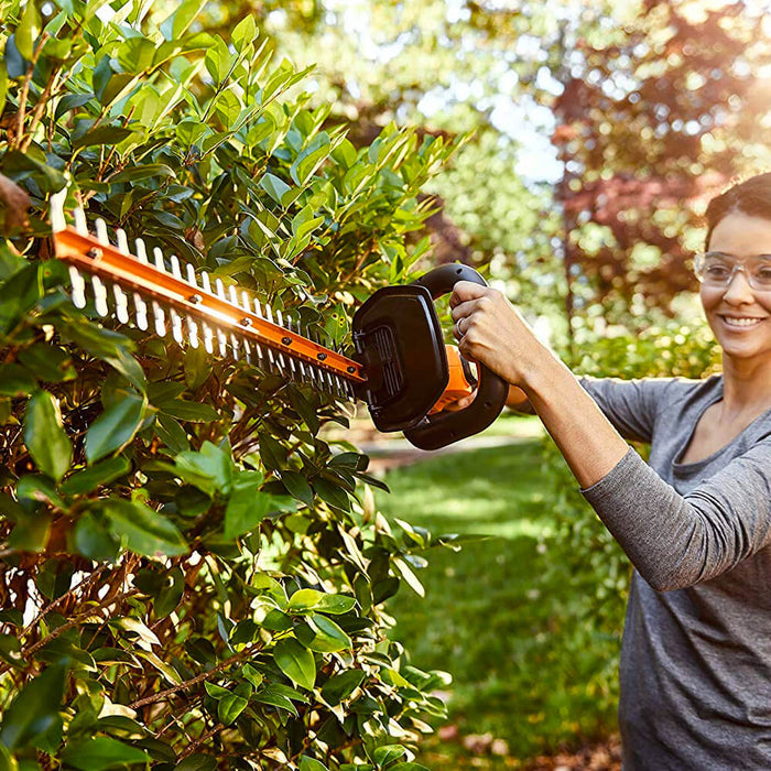 Worx WG261 20 Volt 20 Inch Dual Action D-Grip Power Share Hedge Trimmer Kit