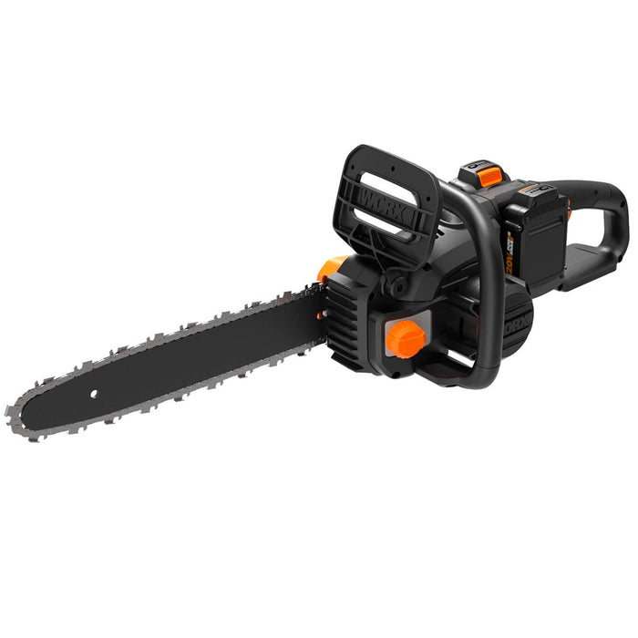 Worx WG384  40 Volt 14 Inch Power Share Quick-Stop Brake Cordless Chainsaw Kit