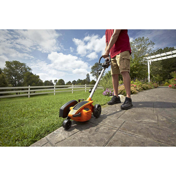 Worx WG896 120-Volt 12-Amp 7.5-inch 3 Position Blade 2-in-1 Lawn Edger/Trencher