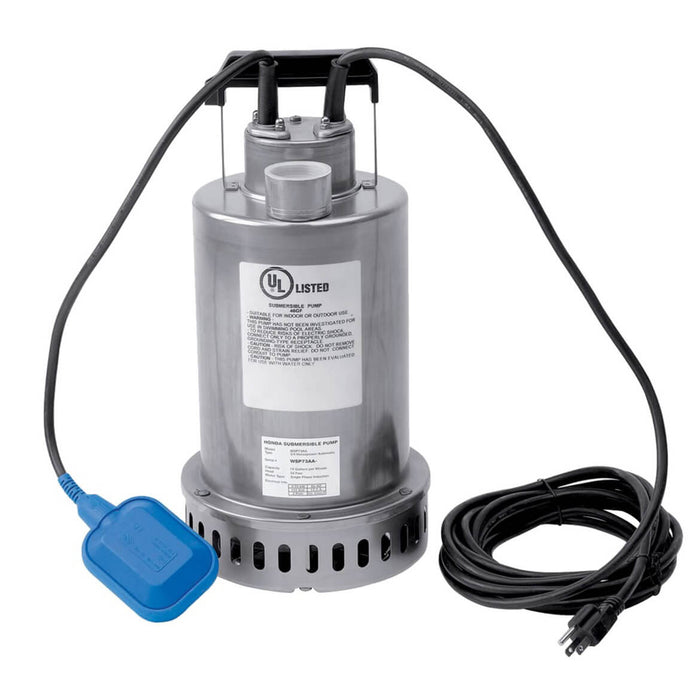 Honda WSP73 3/4-Hp 115-Volt 74-Gpm Submersible Water Pump with Top Discharge