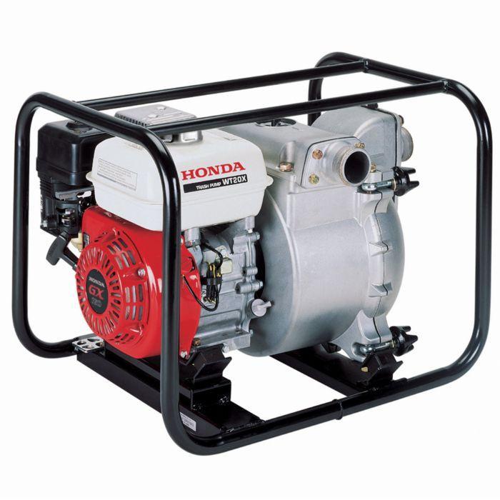 "Honda WT20 2"" 187-Gpm Gasoline Powered Pro Trash Pump - Scratch and Dent"