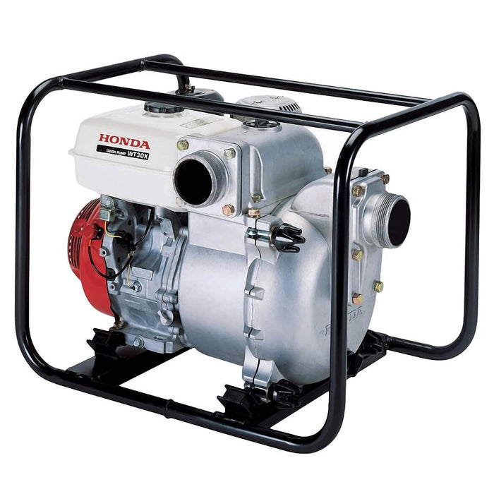 Honda WT30 3-Inch 319-Gpm Construction OHV Commercial Trash Pump