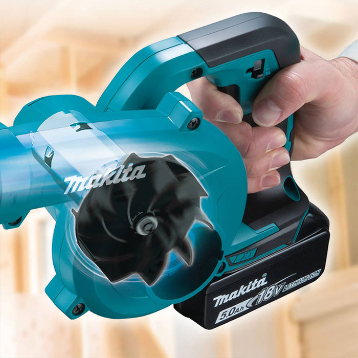 Makita XBU06Z 18V LXT Li-Ion Cordless Floor Blower w/ Long Nozzle - Bare Tool
