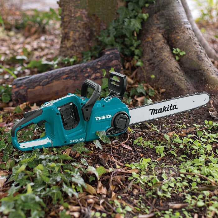 Makita X2 XCU04Z 36-Volt LXT 16-Inch Brushless Cordless Chainsaw - Bare Tool
