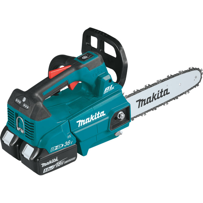 Makita XCU08PT 18V X2(36V) 14 Inch Lithium-Ion Brushless Top Handle Chain Saw Kit