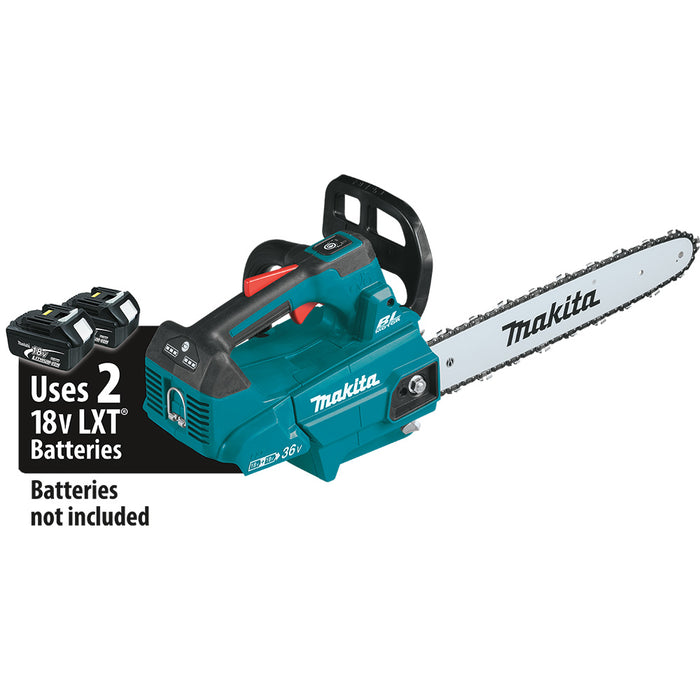 Makita XCU09Z 18V X2 36V LXT Li-Ion 16 In Top Handle Chain Saw - Bare Tool