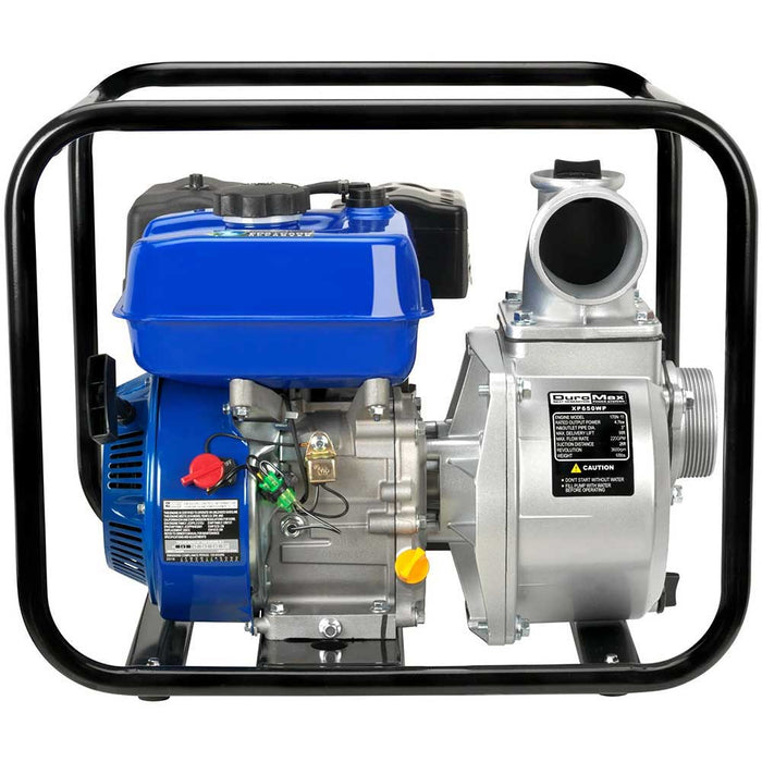 "DuroMax XP650WP-LHK 7 HP 220 GPM 3600 RPM 3"" Gas Engine Water Pump Kit"