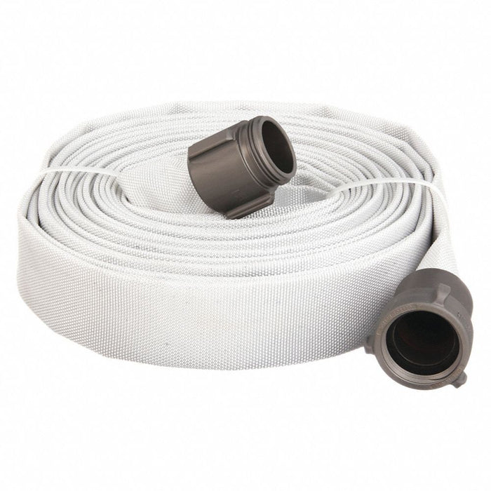 "DuroMax XPH1550FH 1.5"" x 50' Double Jacket EPDM Fire Discharge Hose"