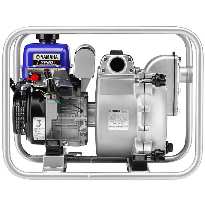 Yamaha YP20TX 2-Inch 4-Gallon 184-Gpm 4-Cycle Durable Recoil Engine Trash Pump