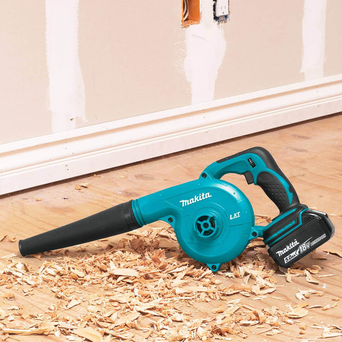Makita DUB182T1 18-Volt LXT 5.0Ah Cordless Lithium-Ion Electric Blower Kit