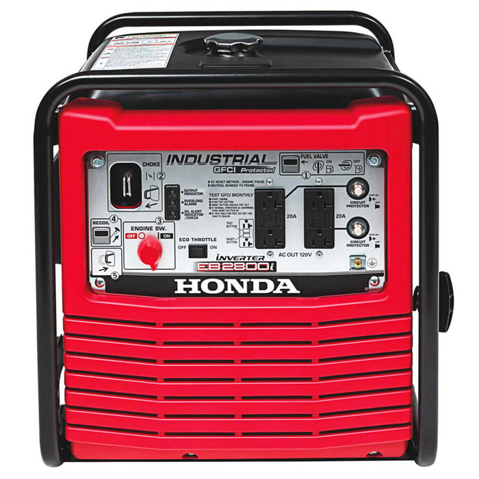 Honda EB2800i 2,800-Watt Portable Industrial Gas Powered Inverter Generator