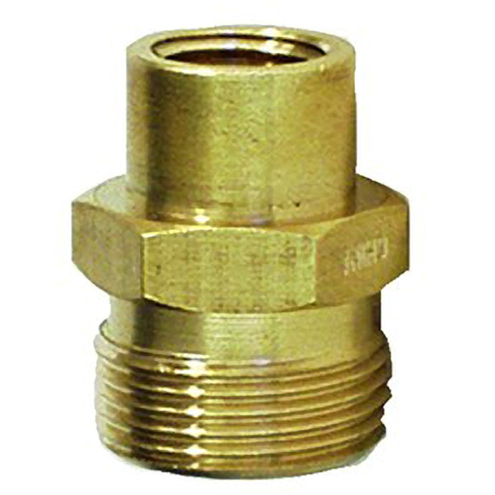 "Generac 6627 Male Metric x 1/4"" FPT Adapter"