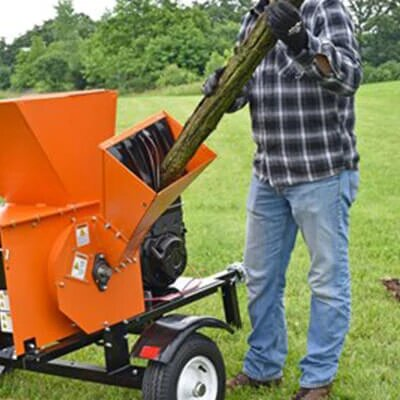 Generac CS27050GENG 20-Inch x 18-Inch 19.8-Fpt Road Tow Pro Chipper/Shredder Kit