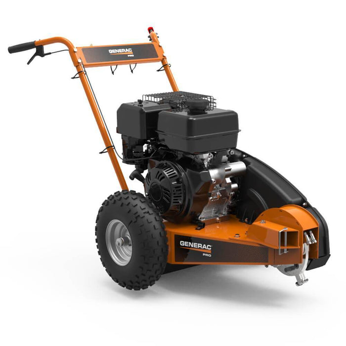 Generac ST47019GENG 19.6-Fpt Gas Powered Carbide-Tipped Pro Stump Grinder