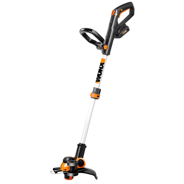 WORX WG163 20-Volt Max Cordless Lithium-Ion Grass String Trimmer and Edger
