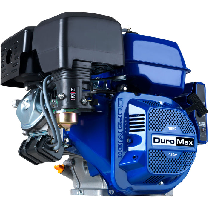 DuroMax XP16HPE 420cc 16-HP Recoil/Electric Start Horizontal Gas Powered Engine