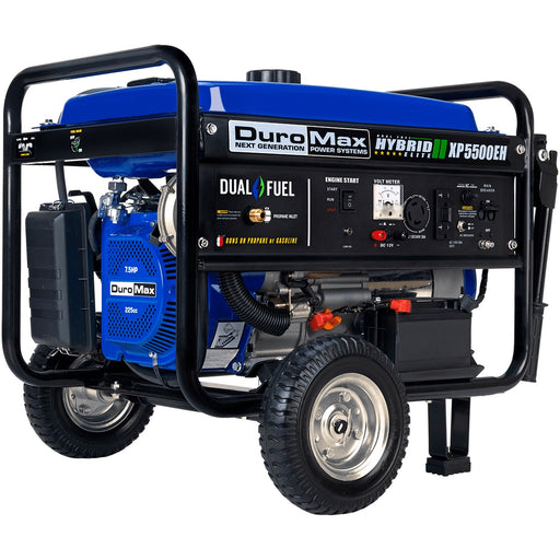 DuroMax XP5500EH 5,500-Watt 7.5 HP Electric Start Hybrid Powered Generator