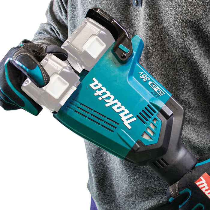 Makita X2 XUX01Z 36-Volt LXT Lithium-Ion Cordless Couple Shaft Power Head - Bare Tool