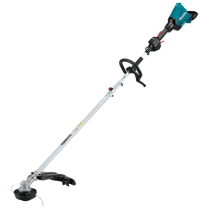 Makita X2 XUX01ZM5 36-Volt LXT Shaft Power Head W/ Trimmer Attachment - Bare Tool
