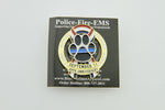Limited Edition 20th Anniversary USA Ribbon Thin Blue Line K9 2001-2021 Never Forget Pin