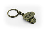 Remember 9/11  Police 3D Hat Key Chain Never Forget Limited Edition