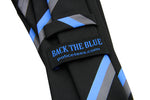 Thin Blue Line Blue Stripe Tie