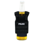 Miniature Tactical Vest Beverage Holder  - POLICE