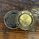Correction Officer Prayer Challenge Coin