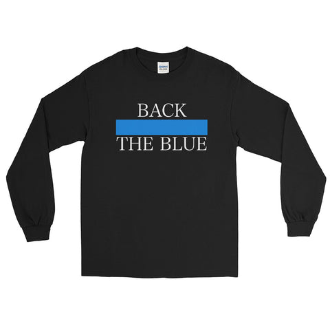 Back The Blue Long Sleeve Shirt