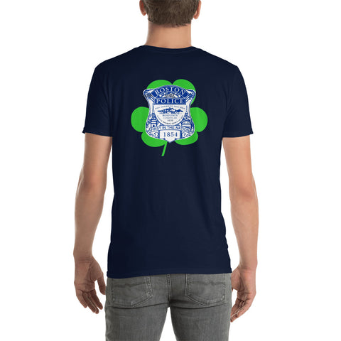 Boston Police Shamrock Tee