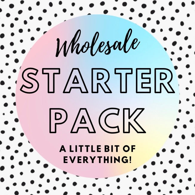 WHOLESALE STARTER PACK. RRP $250