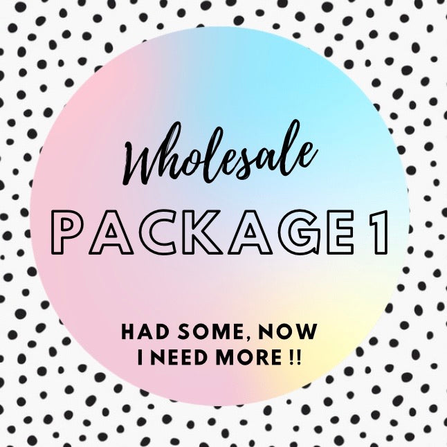 WHOLESALE PACKAGE 1. RRP $450