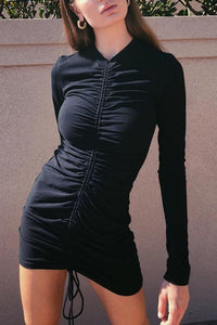 Fashion Sexy Long Sleeves Bodycon Mini Dress
