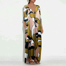 Load image into Gallery viewer, Casual Vintage Printed Cotton/Linen Dresses