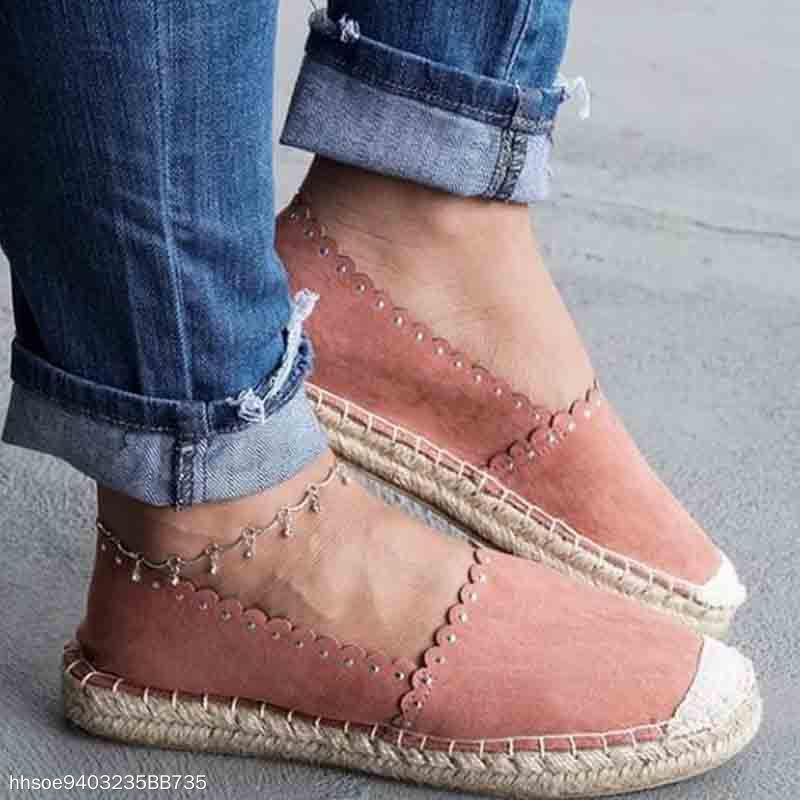 Fisherman Style Hemp Rope Casual Loafer