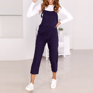 Casual Slim Thin Wide Leg Jumpsuit